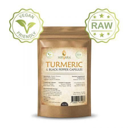 Turmeric & Black pepper capsules